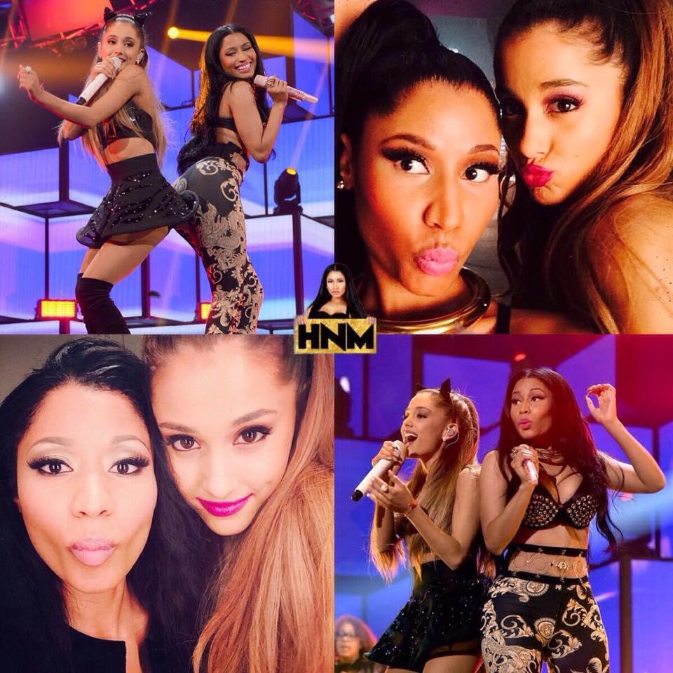 Ariana Grande et Nicki Minaj de nouveau réunies sur un son?