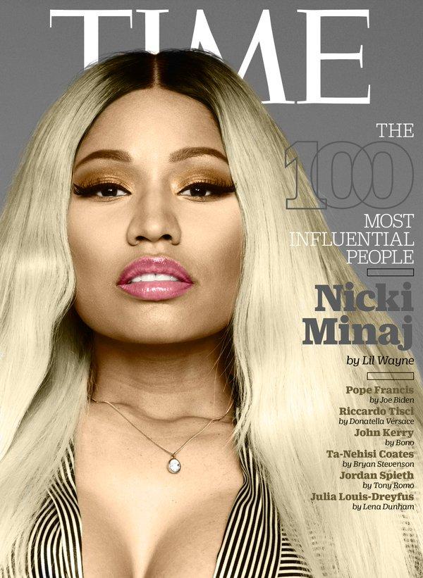 Nicki Minaj pour le TIMEMagazine