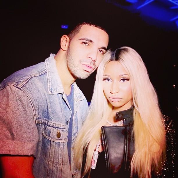 Nicki Minaj au concert de Drake àL.A.