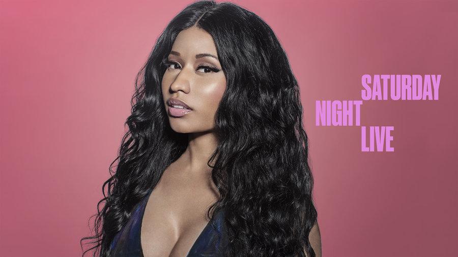 Nicki Minaj dans l'émission SNL[2014]