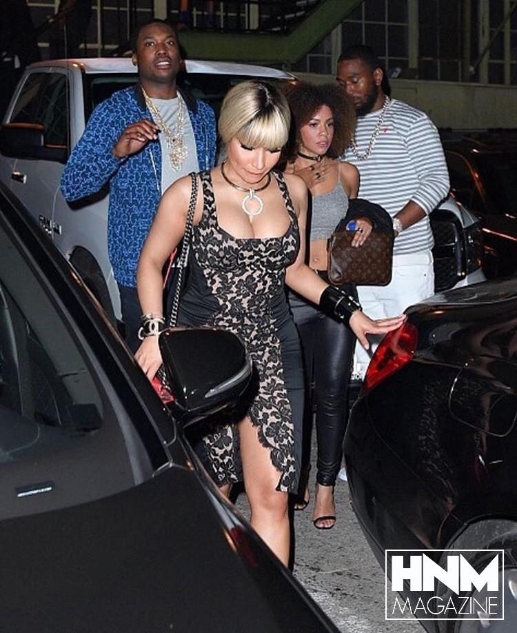 Nicki Minaj & Meek Mill à LosAngeles!