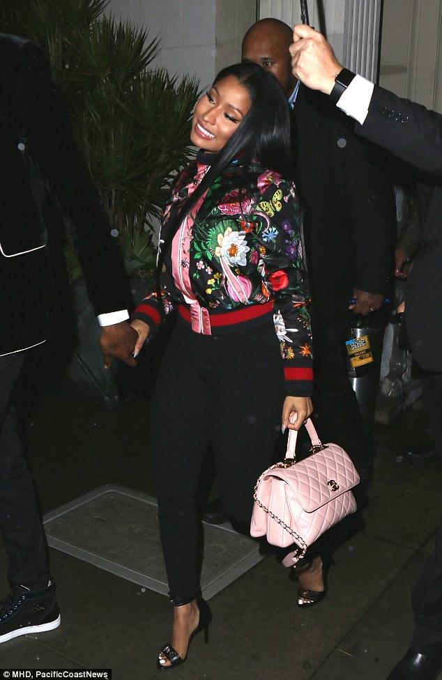 Nicki Minaj passe la soirée avec Meek Mill après lesAMA's!
