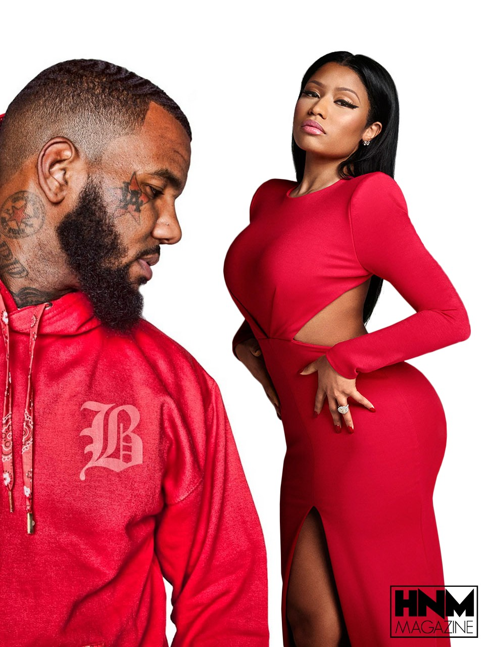 The Game offre des roses à Nicki Minaj!