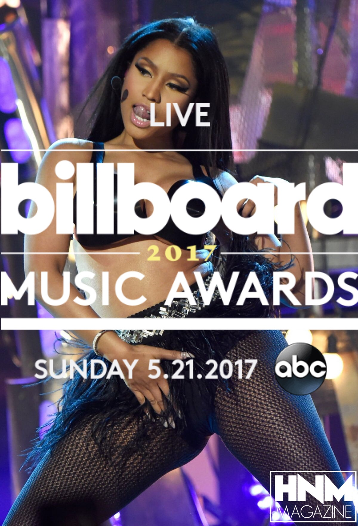 Nicki Minaj nominée aux Billboard Music Awards 2017 !