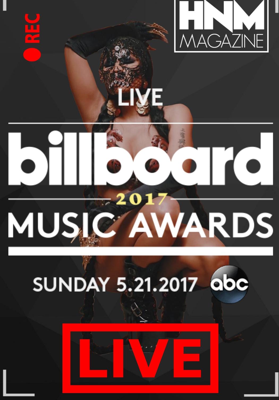Billboard Music Awards 2017 [LiveStream + Photos +Vidéos]