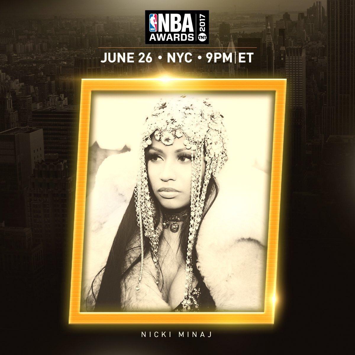 Nicki Minaj va chanter aux NBAAwards!