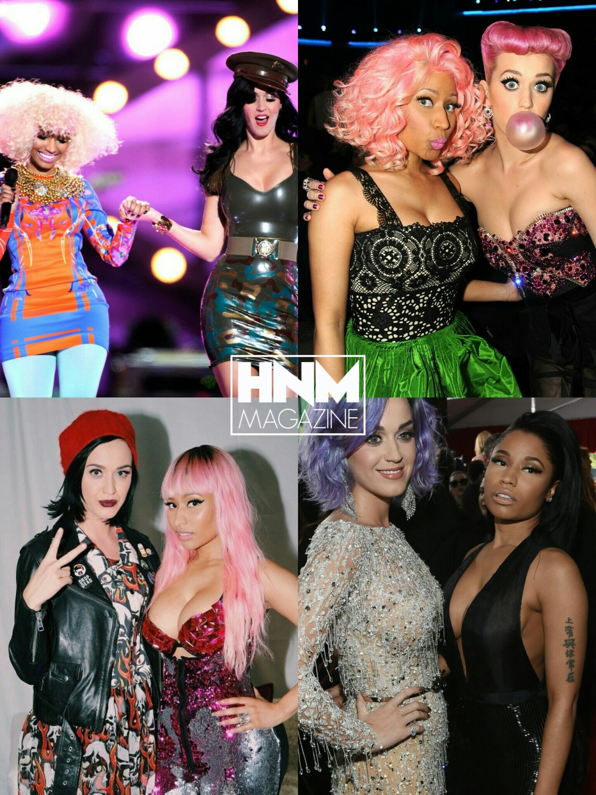 Nicki Minaj va collaborer avec Katy Perry?