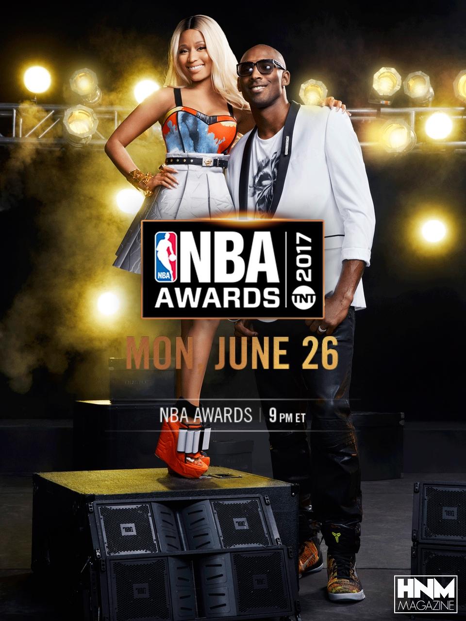 Nicki Minaj aux NBA Awards [LiveStream]