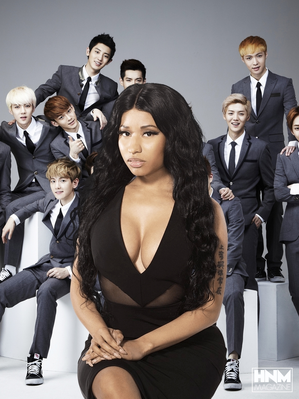 Le groupe EXO plagie Nicki Minaj & DavidGuetta!