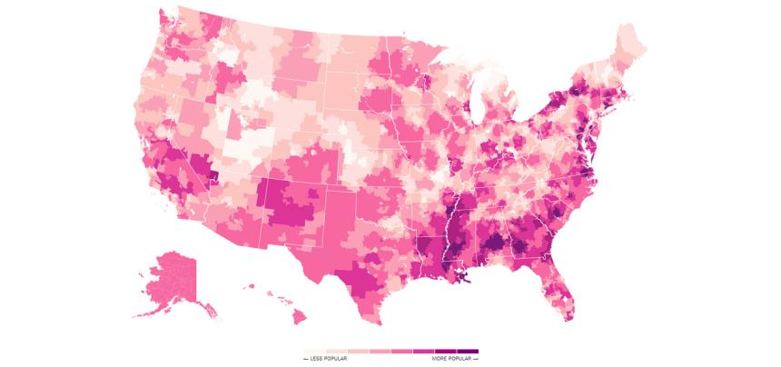 nicki map popu