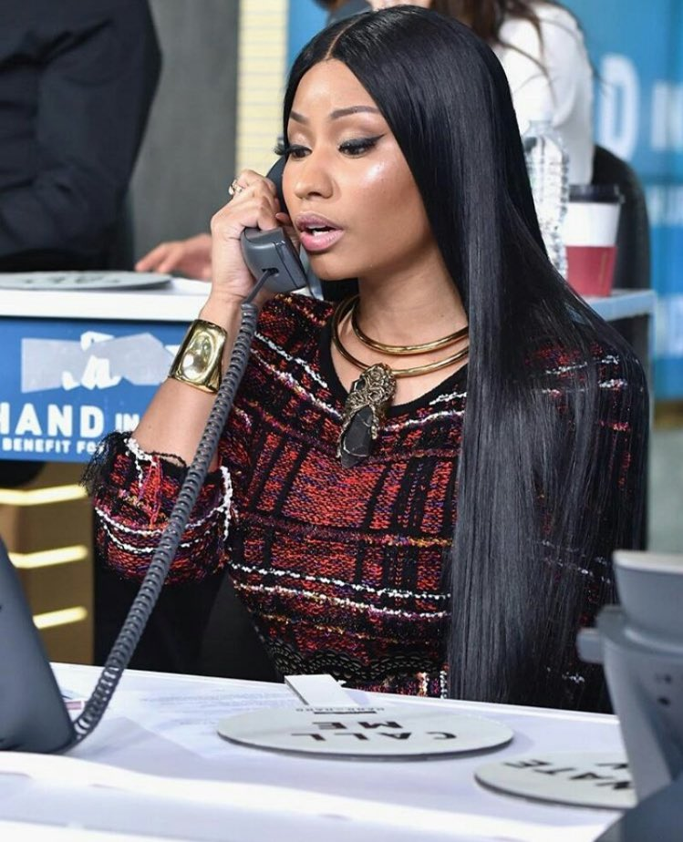 Nicki Minaj participe au téléthon «Hand In Hand»!