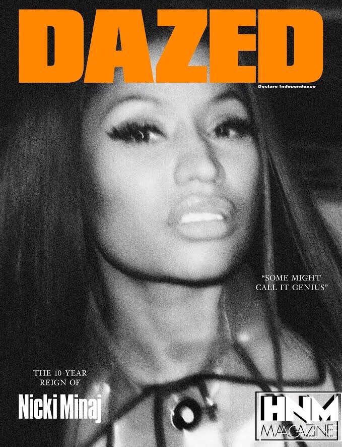 Nicki Minaj en couverture de DAZED Magazine !