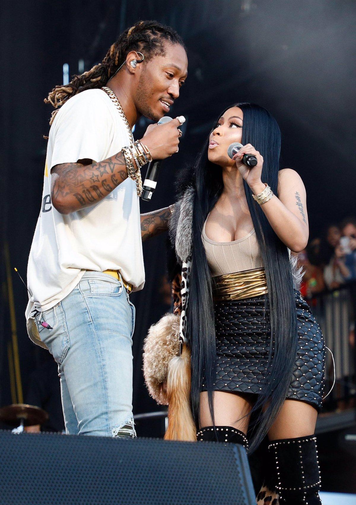 Nicki Minaj surprend les fans du Meadows Festival! [Photos +Vidéos]