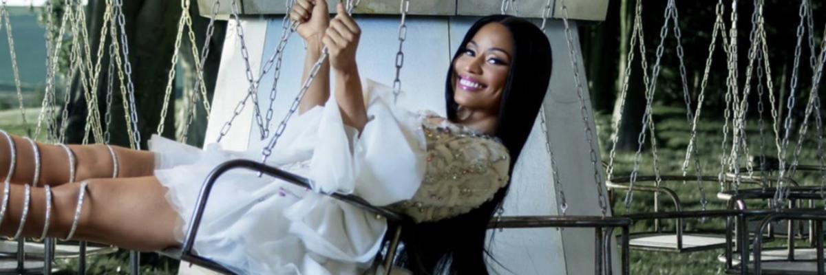 H&M dévoile les premières images de leur collection avec NickiMinaj!