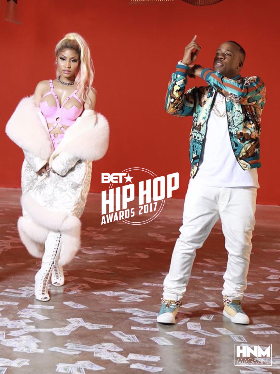 Nicki Minaj ressort victorieuse des BET Hip-Hop Awards2017!