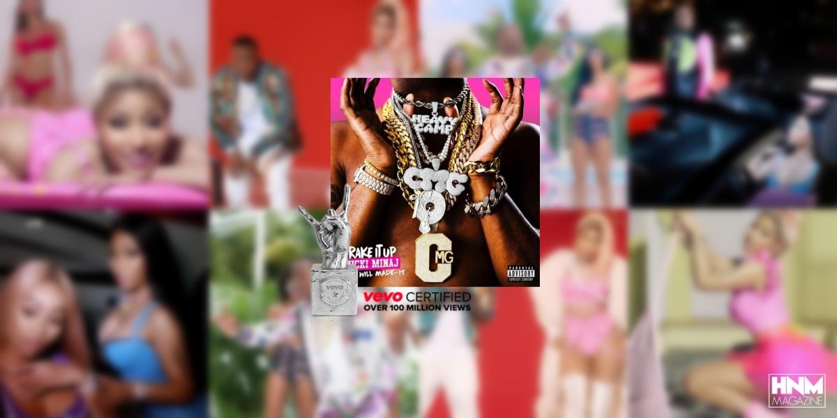 «Rake It Up» de Yo Gotti & Nicki Minaj est VEVOCertified!