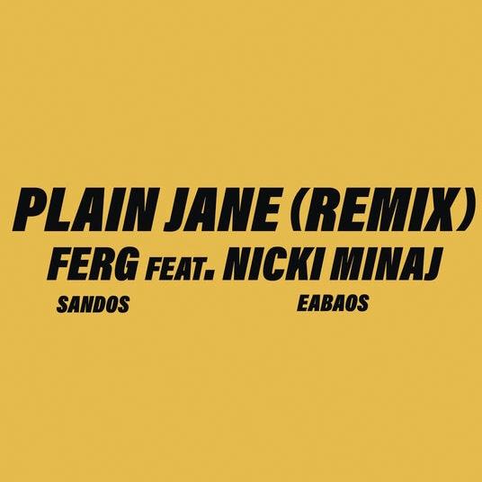 A$AP Ferg – Plain Jane REMIX (feat. Nicki Minaj) [Stream + Téléchargement +Traduction]