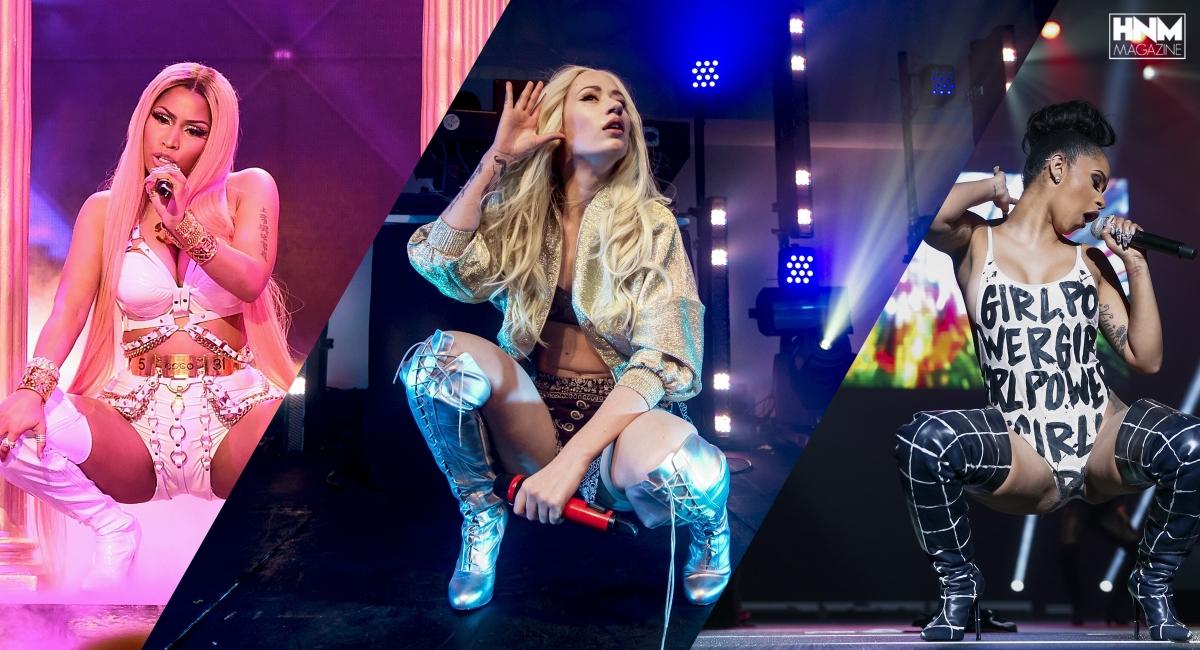 Iggy Azalea aimerait collaborer avec Nicki Minaj et CardiB!