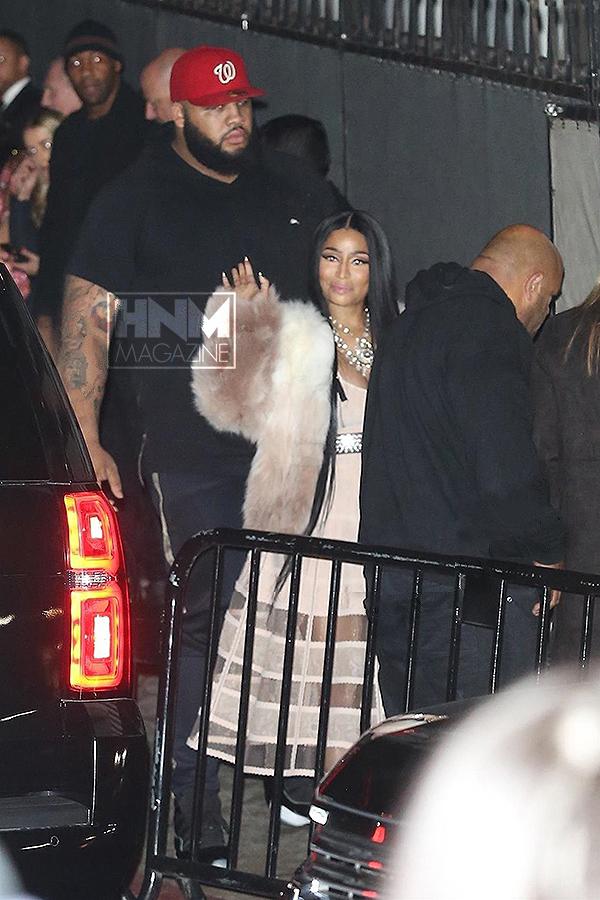 Nicki Minaj aperçu lors de l'after-party de Beyoncé et Jay-Z à l'occasion des Oscars 2018!