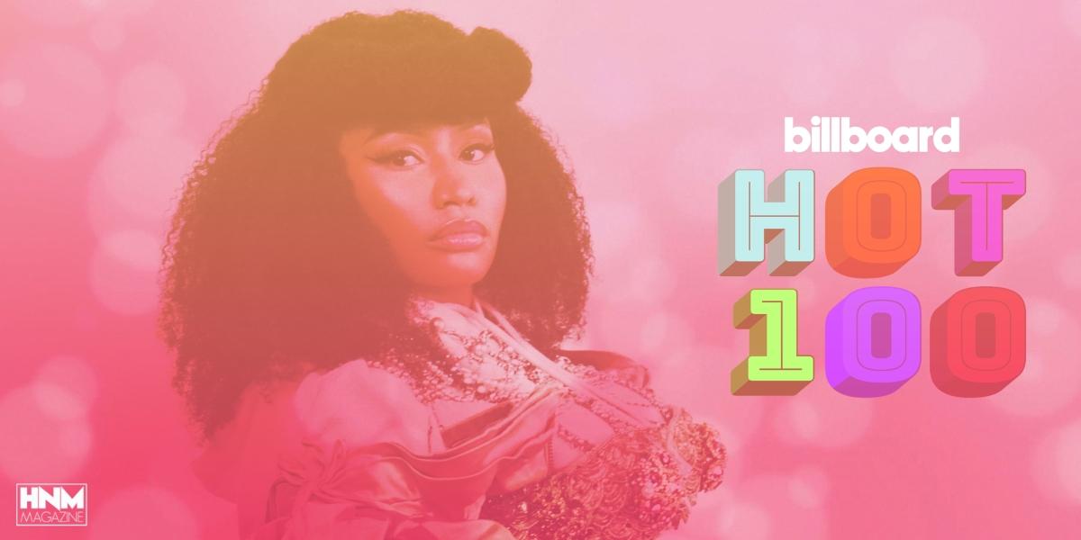 Nicki Minaj étend son record dans le Billboard Hot100!