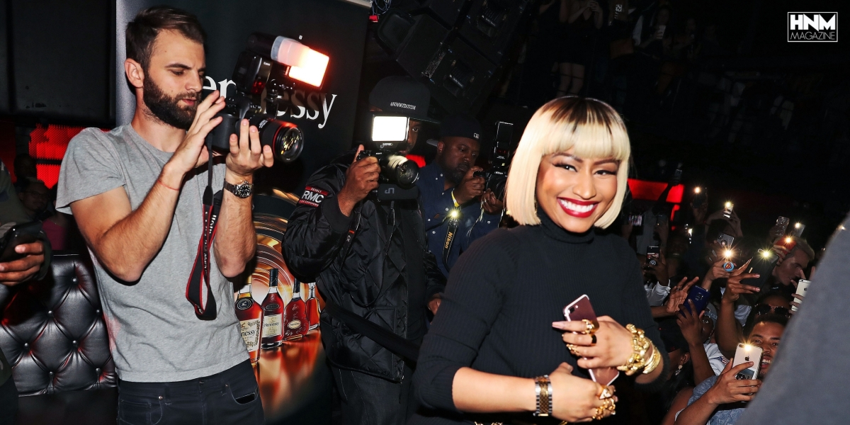 Nicki Minaj a donné une afterparty au Highline Ballroom! [Photos + Vidéos]