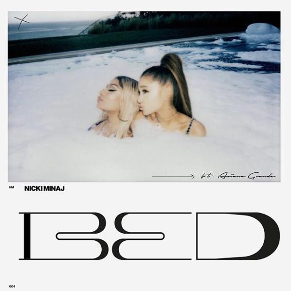 Nicki Minaj – Bed (Feat. Ariana Grande) [Stream + Téléchargement +Traduction]