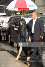 NEW YORK, NY - AUGUST 13: Singer Nicki Minaj is seen on August 13, 2018 in New York City. (Photo by Raymond Hall/GC Images)