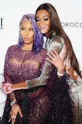 Mandatory Credit: Photo by MediaPunch/Shutterstock (9871041w) Nicki Minaj, Winnie Harlow The Daily Front Row Fashion Media Awards, Arrivals, New York Fashion Week, USA - 06 Sep 2018