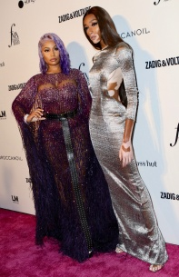 Daily Front Row's 2018 Fashion Media Awards Pictured: Nicki Minaj Ref: SPL5021513 060918 NON-EXCLUSIVE Picture by: Nancy Rivera / SplashNews.com Splash News and Pictures Los Angeles: 310-821-2666 New York: 212-619-2666 London: 0207 644 7656 Milan: +39 02 4399 8577 Sydney: +61 02 9240 7700 photodesk@splashnews.com World Rights