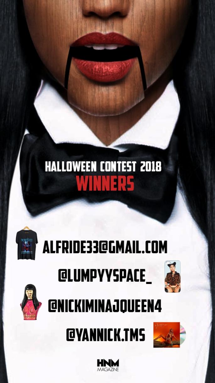 Winners Halloween Concours 2018
